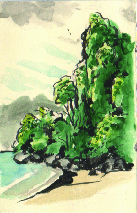 ulrich-schroeder_sketchbook_thailand_krabi_2003_ink-and-watercolor-on-paper